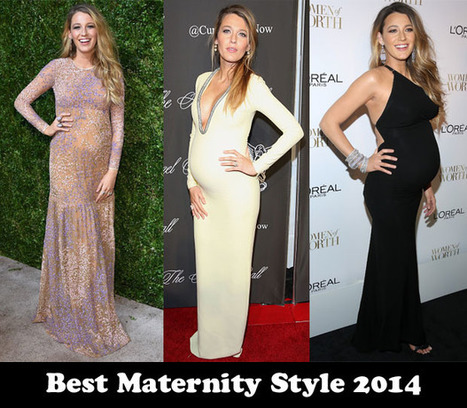 Best Maternity Style 2014 - Blake Lively - Red Carpet Fashion Awards | Maternity Fashion Magazine - Glamorous Mom's Are Here | Scoop.it