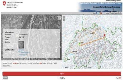 SwissGuesser: Historische Luftbilder | Technology Enhanced Learning in Teacher Education | Scoop.it