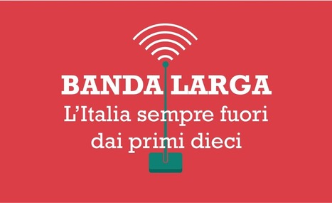 Banda larga, Italia sempre fuori dai primi 10 | Social Media Italy | Scoop.it
