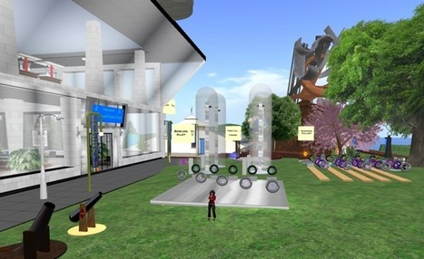 Second Life in NTID Physics | Second Life and o... | Technologies for Embodied Learning Experiences | Scoop.it