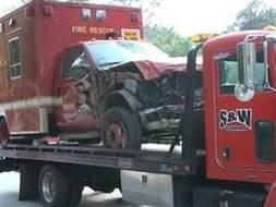 Patients steals ambulance, crashes into home | Strange days indeed... | Scoop.it