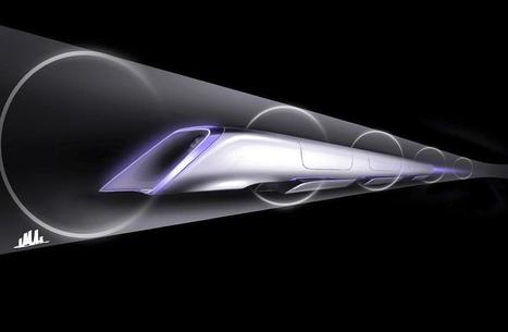 Le train supersonique Hyperloop bientôt à l'essai aux États Unis | Economie Responsable et Consommation Collaborative | Scoop.it