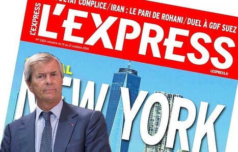 Discussions entre Vivendi et Roularta pour un rachat de «L'Express» | DocPresseESJ | Scoop.it