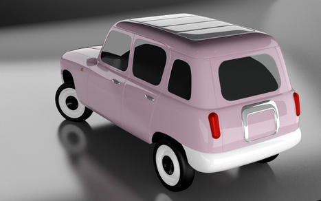 'the nice icon of industrial change' by miguel herranz - renault 4 ever shortlisted entry   Art, Design & Technology   Scoop.it