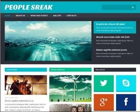 15+ Best Responsive Joomla Templates 2014 | Joomla! | Scoop.it