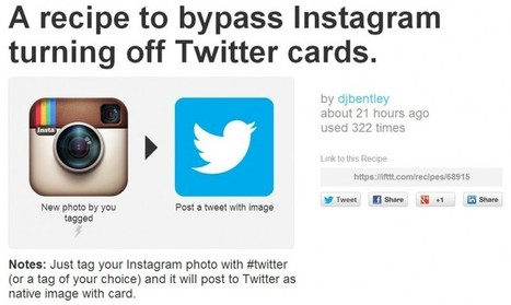 Post Instagram Photos Directly to Twitter | Trending News Stories | Scoop.it