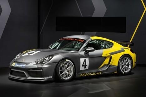 Porsche Cayman GT4 Clubsport : à l'extrême !   Auto , mécaniques et sport automobiles   Scoop.it