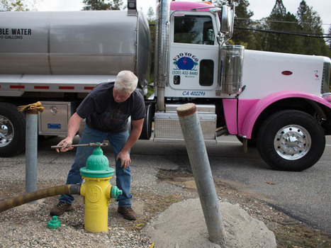 California Drought Keeps Water Delivery Companies Busy | Understanding Water | Scoop.it