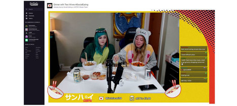 Twitch Brings Social Eating Stateside | Online Marketing - Nederland | Scoop.it