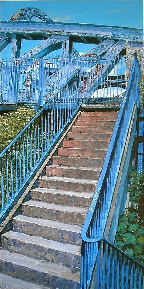 Artist Simon Hopkinson celebrates Bristol's forgotten corners | Modern Ruins, Decay and Urban Exploration | Scoop.it