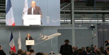 Mérignac : Dassault inaugure un nouveau hangar de maintenance pour avions d'affaires | Aéronautique-Spatial-Défense à Bordeaux et en Gironde | Scoop.it
