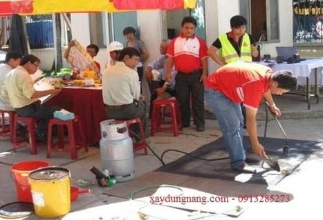 Chống thấm bằng sikalastic 560, sika Bituseal tại Hà Nội | Chống thấm | xaydungnang | Scoop.it