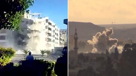 Syria: Assad regime 'wiping neighbourhoods off the map' | APHG | Scoop.it