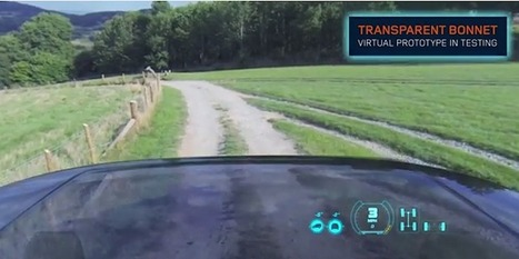 Land Rover Has Invented A 'Transparent' Car | Real Estate Plus+ Daily News | Scoop.it