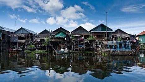 Les maisons sur pilotis de Kompong Phluk   I love it !   Scoop.it