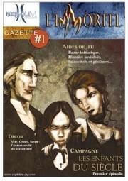La Gazette L'Immortel #1 | Jeux de Rôle | Scoop.it
