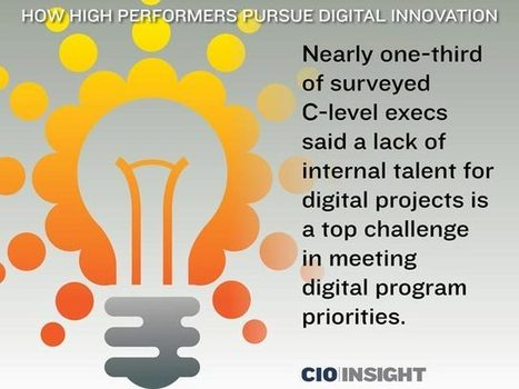 How High Performers Pursue Digital Innovation | digitalNow | Scoop.it