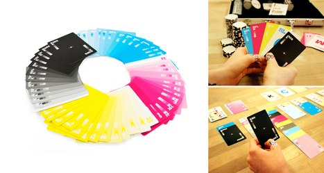 CMYK Playing Cards For Designers And Artists | DigitalSynopsis.com | Scoop.it
