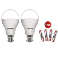 Amazon Deal: Eveready 14w (Pack of 2) LED Bulb along with 4 Free Eveready Ultima AAA Alkaline Battery Rs. 569 – Amazon | indiadime | Scoop.it