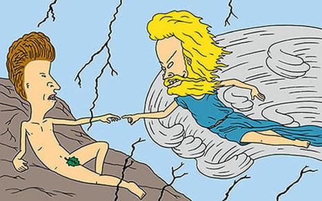 "Pop Culture Art Inspired By Michelangelo's ""The Creation Of Adam"" | Uskonto | Scoop.it"