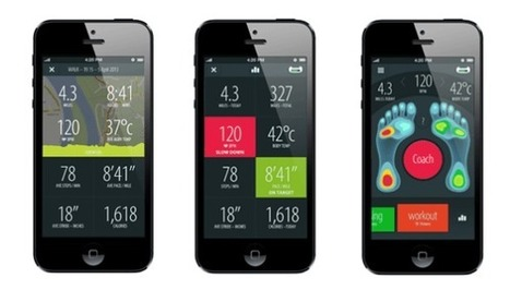 "Sensoria's Smart Fitness Socks Track Your Steps And Coach Your Running Style | TechCrunch | L'impresa ""mobile"" 
