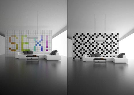 Change It Wall Concept by Amirko | Everchanging Wallnado | NewHiTechGadgets | Scoop.it