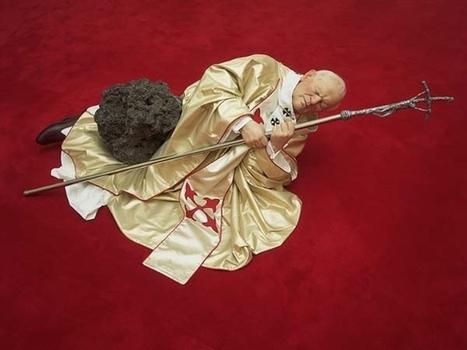 Maurizio Cattelan: La Nona Ora | Art Installations, Sculpture, Contemporary Art | Scoop.it