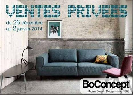 Jusqu'au 2 janvier ce sont les ventes privées BoConcept - Toute-la-Franchise.com (Communiqué de presse)   DECORATION  DESIGN   Scoop.it