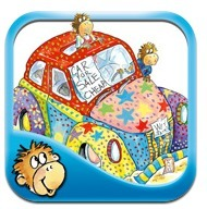Five Little Monkeys Wash the Car-Great App for ... - Autism Plugged In | Communication and Autism | Scoop.it