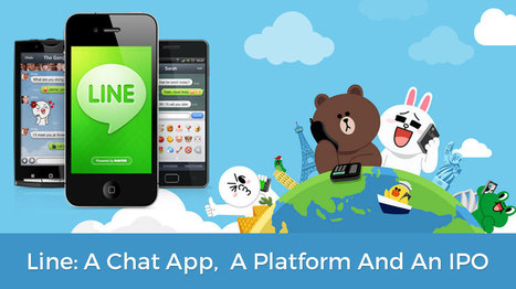 LINE: The Chat App That Grew Up To Be A Platform & Offered IPO - Openxcell   Latest Technology Trends   Scoop.it