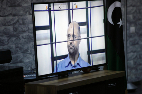 Gaddafi's son Saif appears in Libya court #FreeSaif #Saif #Libya #Feb17Crimes #R2PCrimes #NATOCrimes | Saif al Islam | Scoop.it