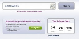 Fake Followers. Débusquez vos faux followers. | Les outils du Web 2.0 | Scoop.it