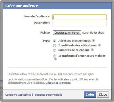 Audience Facebook : comment créer une audience ciblée | Ma veille - Technos et Réseaux Sociaux | Scoop.it