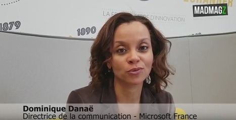 Interview de Dominique Danaë / Directrice de la communication - Microsoft France | Communication interne & Numérique | Scoop.it