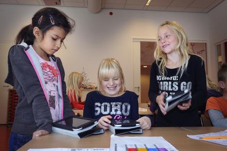 Leerlingen presteren beter dankzij slimme tablet | Blended learning | Scoop.it