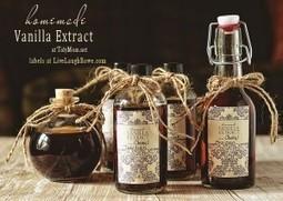 Recipe for Homemade Vanilla Extract (homemade gift) | TidyMom | Modelado y maquetas | Scoop.it