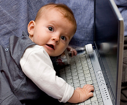 92% of U.S. Toddlers Have Online Presence [STUDY] | The 21st Century | Scoop.it