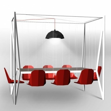 Gadget Innovation: This Swing Table is Great for Hanging Out | The Jazz of Innovation | Scoop.it
