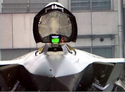 Pic of the Week: China's J-20 Stealth Fighter Head-On | The Matteo Rossini Post | Scoop.it