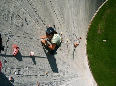 165-Meter-High Swiss Dam Is the World's Tallest Non-Natural Climbing Wall   Strange days indeed...   Scoop.it