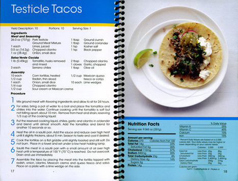 Pfizer's Recipe for Pig Testicle Tacos | Agricultural Biodiversity | Scoop.it
