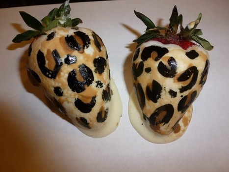 Glamorous strawberries ;) | The Arts forming our personality | Scoop.it