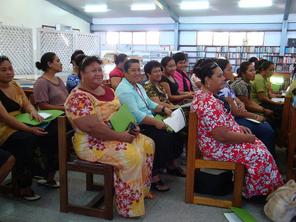 ALP Small Project Report: In-country training for small library associations in the South Pacific, Samoa | IFLA | Libraries in Samoa | Scoop.it