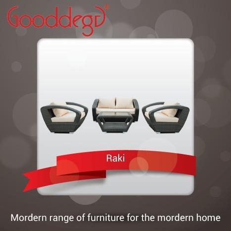 Raki Modern Conversation Set at Sale | Home Decor (Wicker Furniture) | Scoop.it
