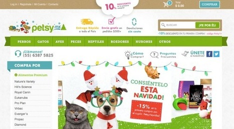 Petsy.mx Raises $1M Brings U.S.-Style E-Commerce To Mexico's Pet Lovers | Ecom Revolution | Scoop.it