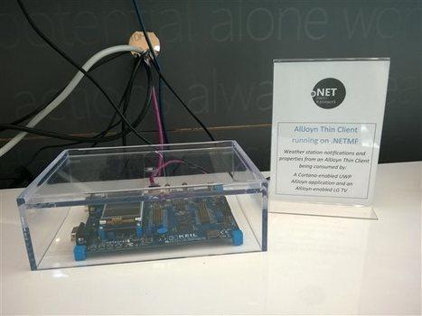 NETMF at Build - .NET Micro Framework   Arduino, Netduino, Rasperry Pi!   Scoop.it