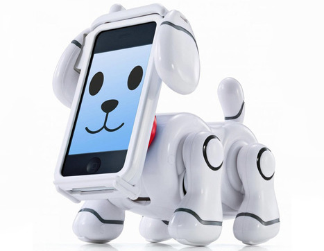 smartpet robotic iPhone dog | INFORMATIQUE 2014 | Scoop.it