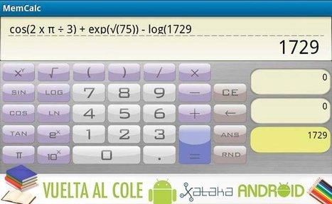 Las mejores aplicaciones Android vuelta al cole: Calculadoras científicas | santecTIC | Scoop.it