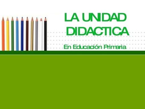 Conceptos para planear unidades didácticas | Sobre Didáctica | Scoop.it