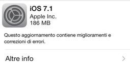 Attenzione al nuovo aggiornamento Apple IOS 7.1 ha problemi con hotspot   Blog Byte   BlogByte   Scoop.it